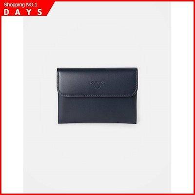 柔らかい [ソン・アリ、ビーンポールACC](男)のネイビージョイカード財布(BE91A3W01R) /名刺入れ/カード入れ6/ 韓国ファッション, 雑貨ショップドットコム 84085c82