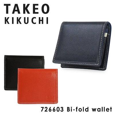 【高価値】 タケオキクチ : タケオキクチ 財布 二つ折り 薄型 メン... : メンズバッグ・シューズ・小物, 茶道具春日園:a56d70ff --- annas-welt.de