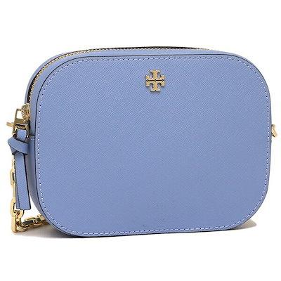 高い素材 トリーバーチ バッグ アウトレット TORY BURCH 52898 468 EMERSON ROUND CROSSーBODY レディース ショルダーバッグ 無地 BOW BLUE 青, 千種町 d5453d8f
