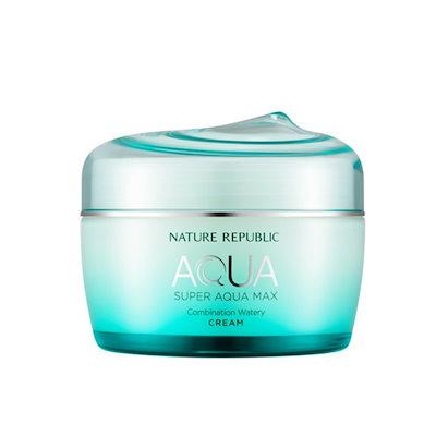 NATURE REPUBLIC Super Aqua Max Watery Combination Cream ネイチャーリパブリック スーパーアクアマックス 水分クリーム 80ml