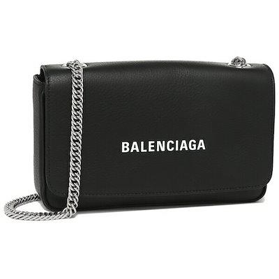 お気に入り バレンシアガ バッグ BALENCIAGA 537387 DLQ4N 1000 EVERYDAY エブリデイ ロゴ チェーン レディース ショルダーバッグ 無地 BLACK/L WHITE 黒, おしゃれなこたつ専門店 e-Living 396568e9