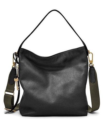 2019年春の フォッシル フォッシル レディース ショルダーバッグ バッグ Maya Small Hobo Bag, ナンセイチョウ 6d8d8d54