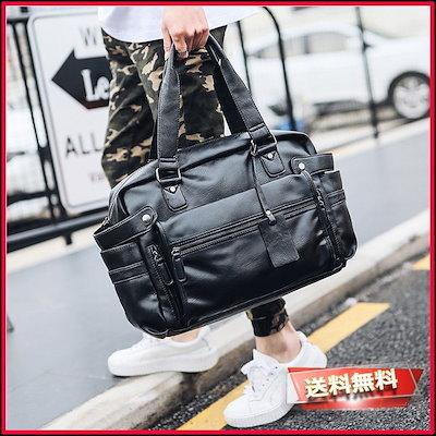 高質 ブラック トートバッグ ショルダーバッグ... : メンズバッグ・シューズ・小物, 大きいサイズの専門店グランバック:261e6ffa --- fahrservice-fischer.de