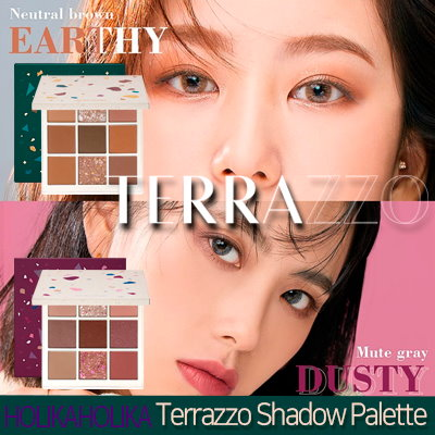 ホリカホリカ テラゾ―アイシャドウパレット/HOLIKA Terrazzo Eyeshadow Palette 韓国コスメ