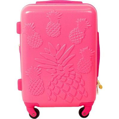 早い者勝ち マクベス メンズ スーツケース バッグ Pineapple 21 Hardside Carry-On Spinner, 小さいサイズSHOP Chou Rose 6eed5d9e