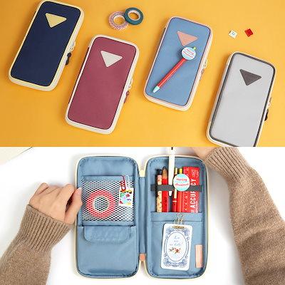 MONOPOLY P-POCKET - ペンケース 韓国 ペンポーチ 筆箱 文房具