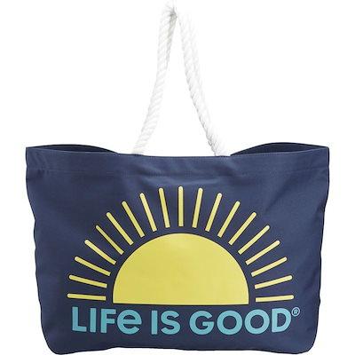 【通販激安】 ライフイズグッド メンズ スーツケース バッグ Sunny Day Large Beach Bag, いりえフルーツ 4fedd114