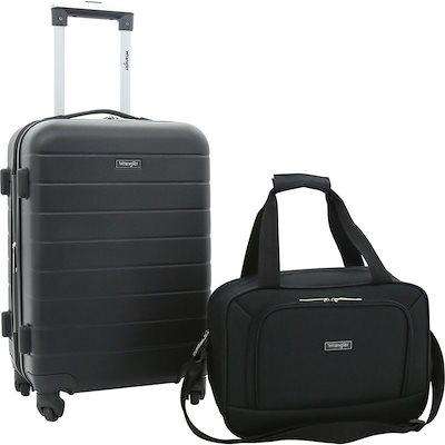 【送料関税無料】 ラングラー メンズ スーツケース バッグ Wrangler 2 Piece Rolling Expandable Carry-On Set, 園田商事 e000848a