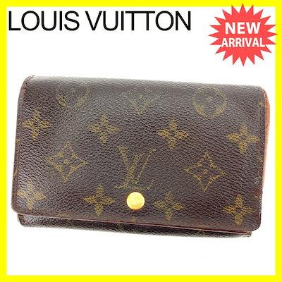 【お気に入り】 ルイヴィトンルイヴィトン Louis Vuitton L字ファスナー財布 二つ折り財布 /メンズ可 /ポルトモネ・ビエトレゾール モノグラム M61736 ブラウン×ライトブラウン PVC×レザー, COCOMEISTER 498e95ee