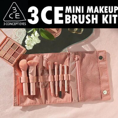 [3CE/3CONCEPT EYES/韓国コスメ]3CE MINI MAKEUP BRUSH KIT