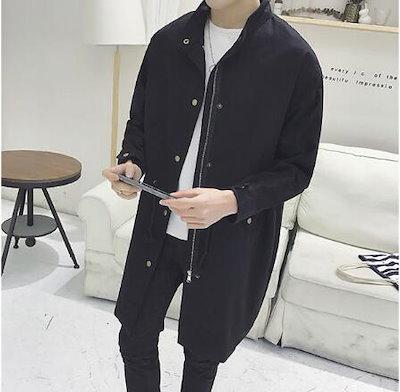 [55555SHOP]韓国ファッション 新品大人気 ポップなファッション フートつき アウター ゆったり メンズ