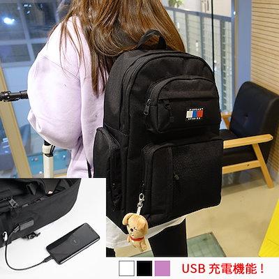 3ef966e0829c ABROAD 韓国公式販売店のリュック☆CRUSH USB BACKPACK NEW ITEM!! [