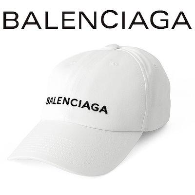 the best attitude cb396 e697d BALENCIAGA正規品 新品 BALENCIAGA バレンシアガ クラシック ベースボールキャップ イタリア製 メンズ ブランド 帽子 キャップ  ホワイト 白 452245352B49060 プレゼント