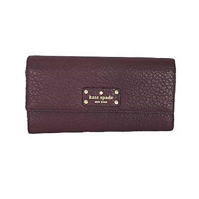 【ポイント10倍】 Bay Street Sandra Leather Clutch Wallet, Mulled Wine, クリスタルテラス ライトストーン 5463286e