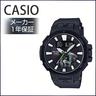 29cd4c5dec CASIO 腕時計 PROTREK 世界6局対応電波ソーラー PRW-7000-1AJF メンズ