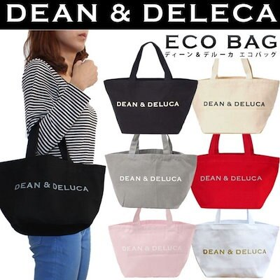 56db24e7f98d DEAN&DELUCA☆ディーン&デルーカ☆コットンキャンバスホリデートートバッグ☆エコバッグ8色