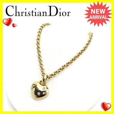 reputable site 29271 7a98f Diorクリスチャンディオール Christian Dior ネックレス ペンダント アクセサリー レディース ...