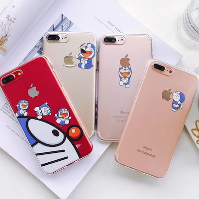 3c6e92f6ce Doraemonドラえもんシンプル可愛い透明柔らかい携帯ケースiPhone XS Max XRケースiphonexケースiPhone7