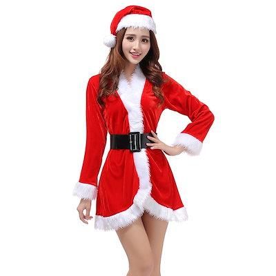 4a3de67bfb608  EMS発送 クリスマス xmas サンタ 衣装 コスチューム コスプレ サンタクロース 大人用 セクシーな 長袖
