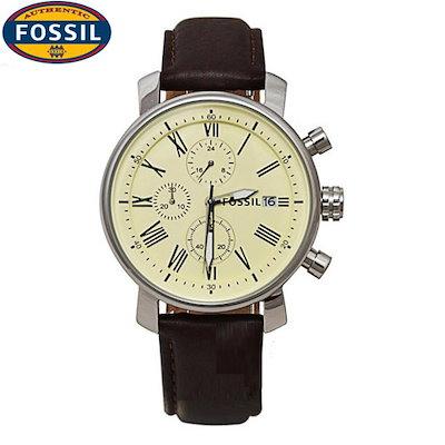 099891c165 FOSSIL フォッシル BQ1007 Mens watch bq1007 ブラウンレザーバンド 腕時計 ウオッチ メンズ とけい 正規品 新品