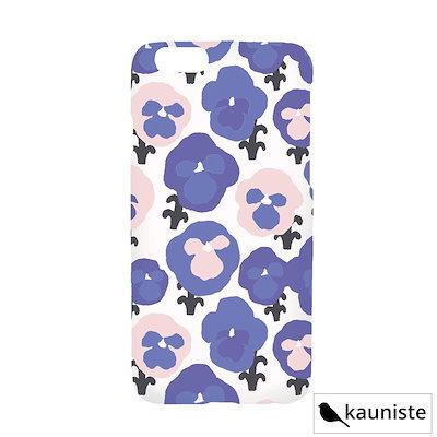 74aced6070 KAUNISTE (カウニステ) Orvokki (ブルー) iPhone7ケース iPhone8ケース 北欧 雑貨 【メール
