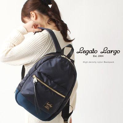 cd20a0fc8148 送料無料☆Legato Largo/レガートラルゴ ナイロン バックパック/高密度ナイロン /