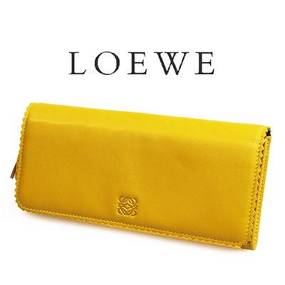 buy popular 1ddbd 6cf21 Qoo10] LOEWE ロエベ 長財布 イエロー 1... : メンズバッグ ...