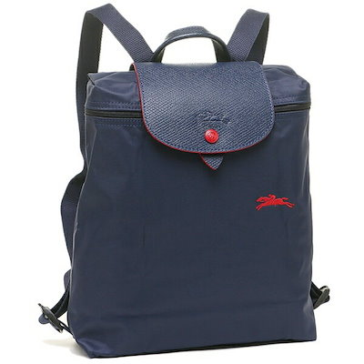 official photos 5c0a0 622ff ロンシャン バッグ LONGCHAMP 1699 619 556 ル プリアージュ LE PLIAGE CLUB BACKPACK レディース  リュック・バックパック 無地 NAVY 紺