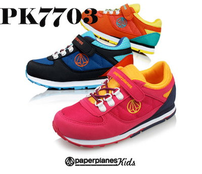 ☆NEW☆PaperplanePK7703☆【韓国製】ブランド靴/ユニセックスランニングスニーカー