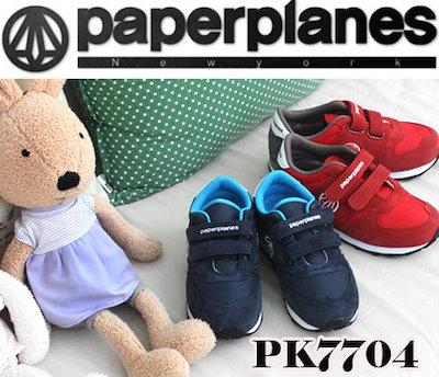 ☆NEW☆PaperplanePK7704☆【韓国製】ブランド靴/ユニセックスランニングスニーカー