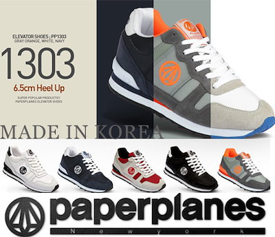 ☆NEW☆PaperplanePP1303☆【韓国製】ブランド靴/ KPOP韓国ファッション/
