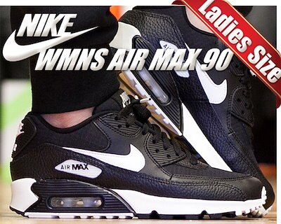 sale retailer 2d19a 5d59d  ナイキ ウィメンズ エアマックス 90 NIKE WMNS AIR MAX 90 black summit white