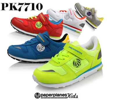 ☆NEW☆PaperplanePK7710☆【韓国製】ブランド靴/ユニセックスランニングスニーカー