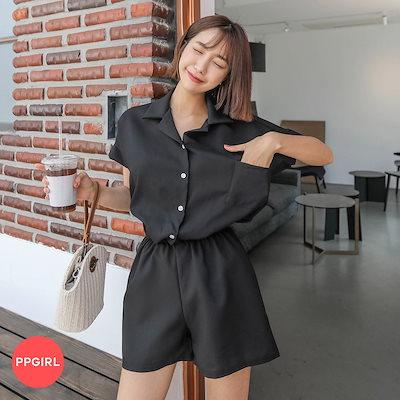 Qoo10] PPGIRL(韓国ファッション)  ♥送料 0円☆PPGIRL_C225 ク