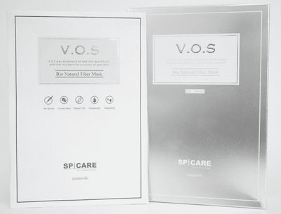 VOS フェイスマスク パック【公式】5枚セット 正規品 ※偽物注意 スピケア