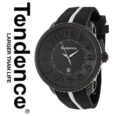 new styles 683db 99385 TENDENCEテンデンス 時計 テンデンス 腕時計 TENDENCE メンズ レディース 02033010AA E4 インポート ラウンドガリバー  ブラック 送料無料