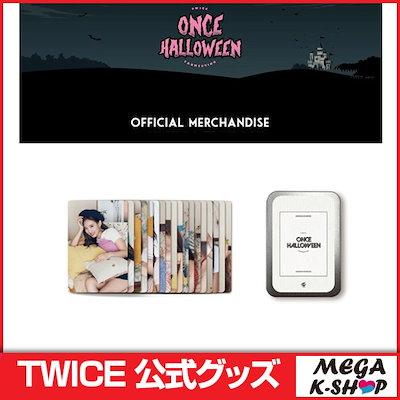 [JYP Entertainment]TWICE PHOTO CARD SET[TWICE ONCE HALLOWEEN MD][JYP][公式グッズ]