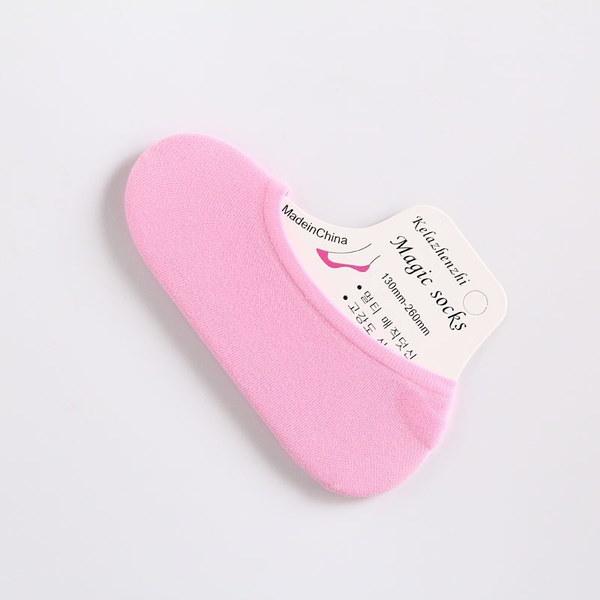 5組女性快適なキャンディーカラーコットンソックススリッパショートソックスファッションアンクルソックスPrefect R