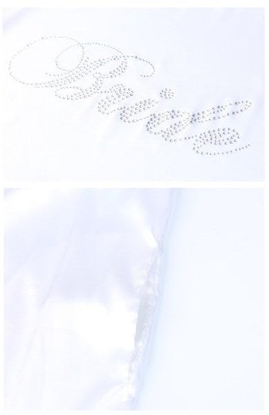 人気の花嫁ブライドメイドサテンローブカスタムワードソリッドシルクローブウェディングパーティードレスDIY着物ローブ