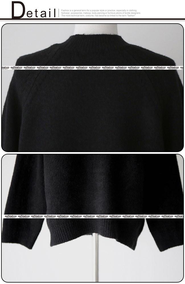 ★送料無料★モックネック ローゲージ ニット レディース 韓国ファッション ワンピース パーカー コート カーディガン ワイドパンツ スカート トレーナー アウター バッグ リュック