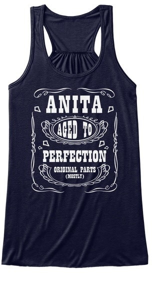 Anita   Aged To Perfection BELLA+CANVAS Women s Flowy Tank