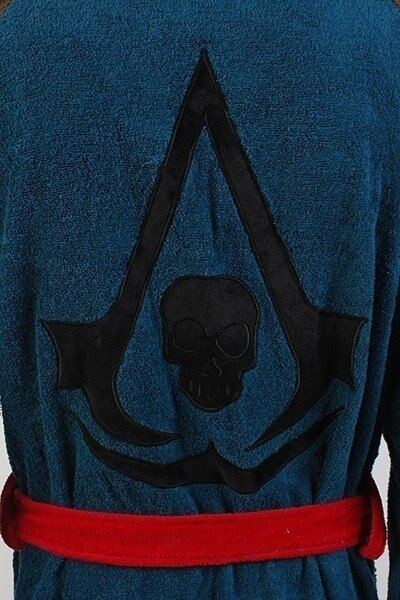 New Assassins Creed 4 Black Flag Pirate Hidden Blade Edward Kenway Cosplay Costume Robe