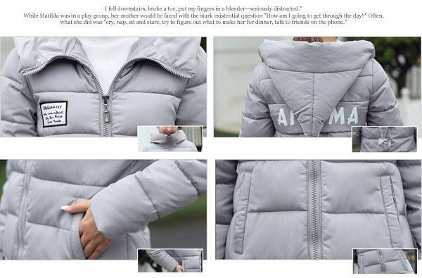 コート  アウター ミリタリーコート 中綿コート ダウン風コート  フード付き ロング丈 暖かい 防寒 レディース保温性抜群