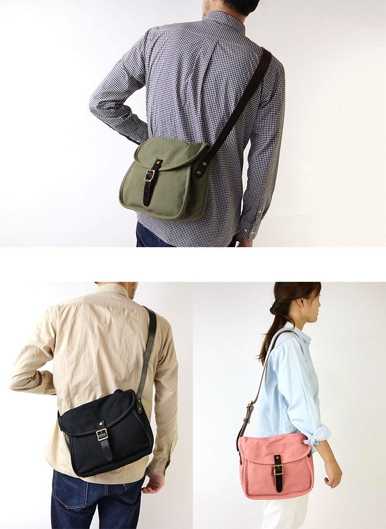 スロウ ショルダーバッグ SLOW COLORS カラーズ Cartridge Shoulder Bag S 斜め掛け メンズ レディース 帆布 306S36E