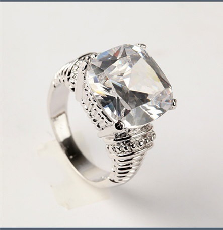 Morganite clear Gemstone 925 Steriling Silverリングサイズ6-10 rrr20