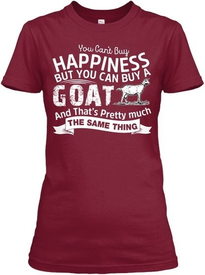 You can buy a goat T-Shirt Gildan Women s Relaxed Tee