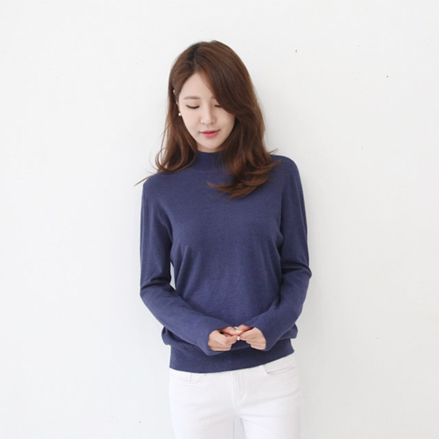 Banpo Polar Rougefit Knit Mixing Basically, you have to have a pretty knit sweater knit