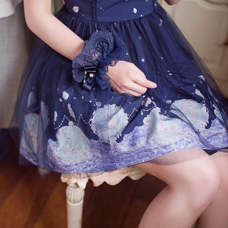 ゴスロリ ロリータ ワンピース ゴシック コスプレ メイド コスプレ衣装 ハロウィン コスチューム 衣装 コスプレ