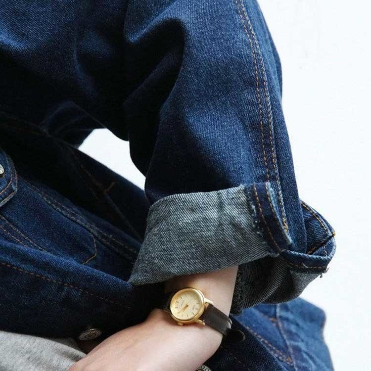 デニムジャケット ショート丈 レディース ダメージ ジージャン Gジャン ウォッシュ加工 ショートデニム デニム ジャケット アウター 長袖 トップス