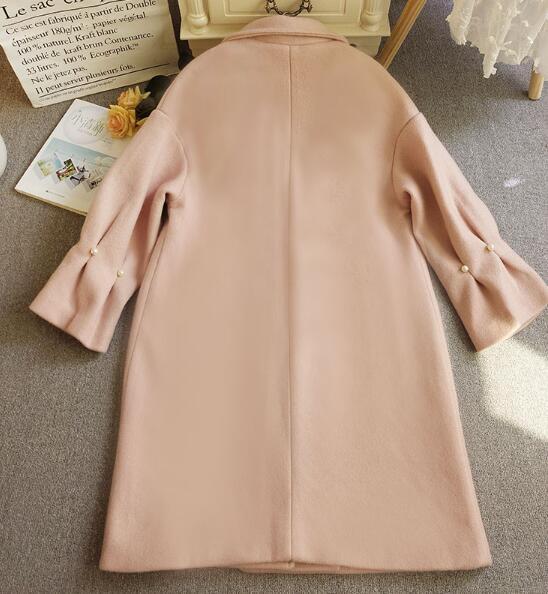 [55555SHOP]長袖 通勤 通学 アウター コート ファッション 合わせやすい